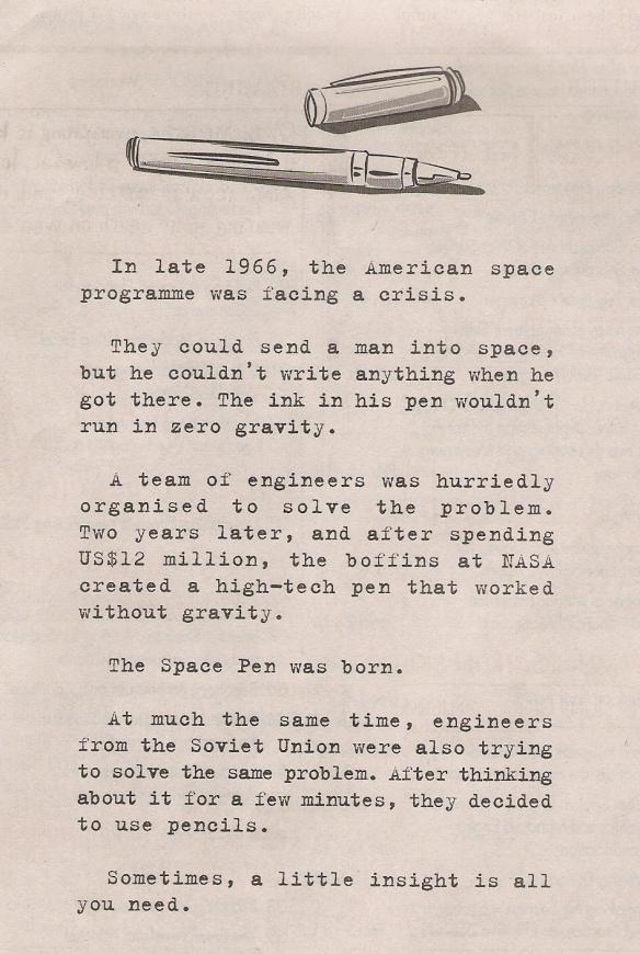 space-pen